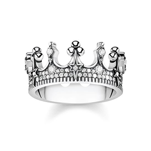 THOMAS SABO RING CROWN SILVER